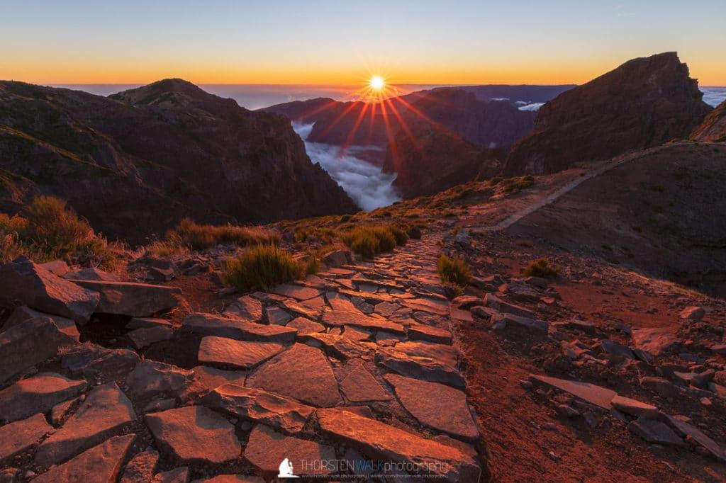 Pico do Arieiro - Sonnenuntergang