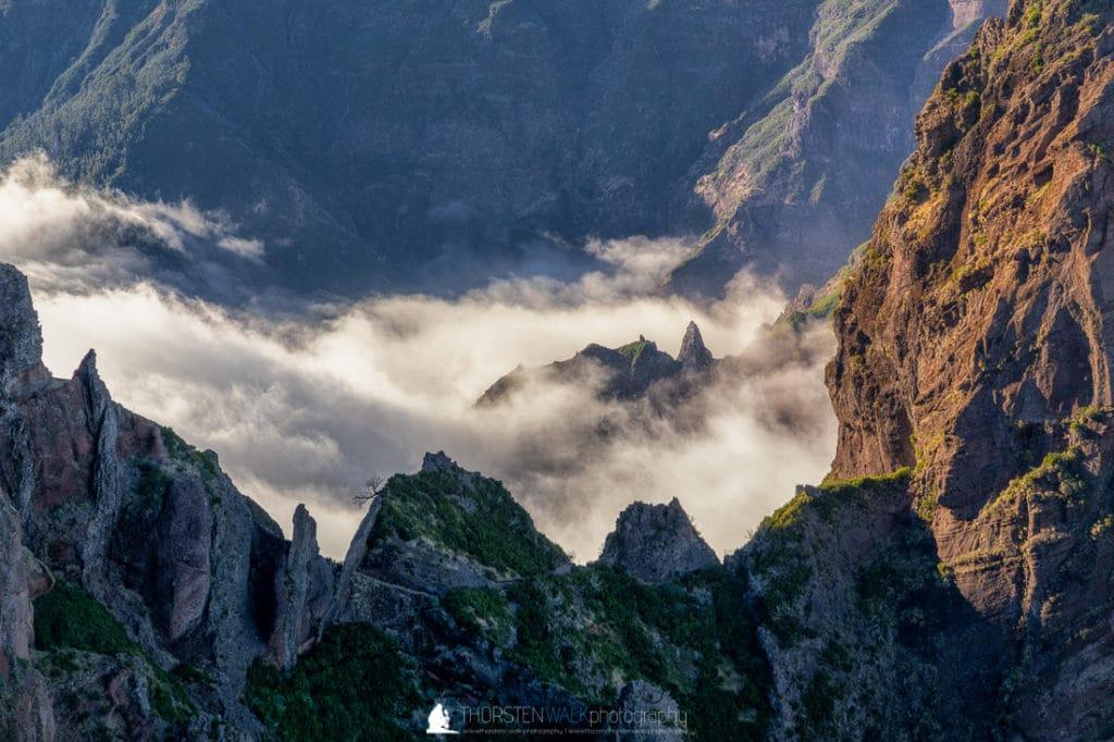Pico do Arieiro - Wolken