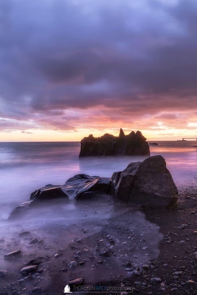 Praia Formosa - Abenddämmerung