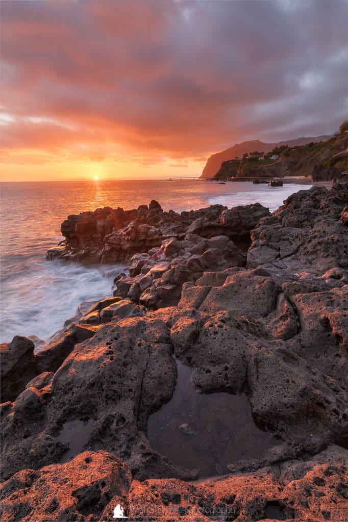 Praia Formosa - Sonnenuntergang