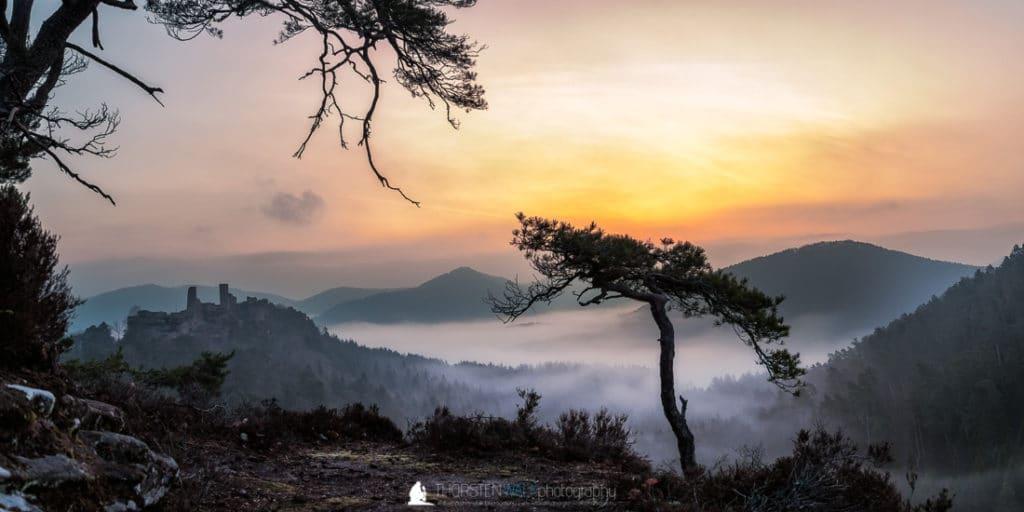 Haferfels Sonnenaufgang