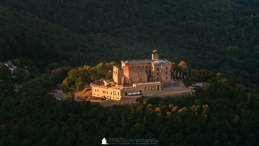 Das Hambacher Schloss von oben #2