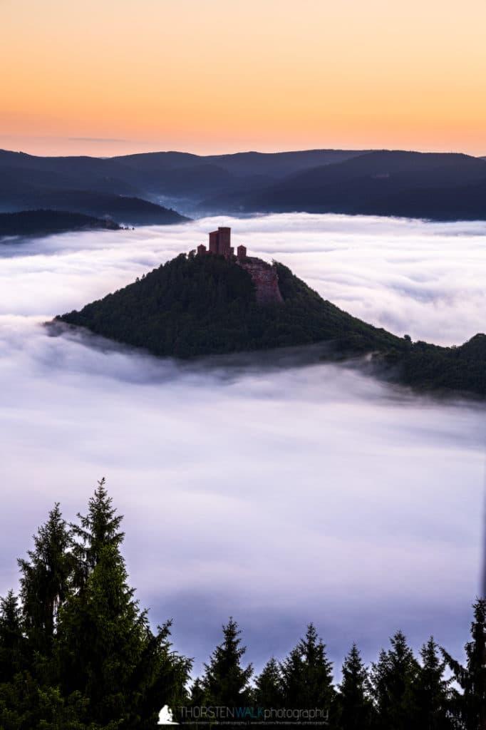 Nebelmeer Trifels